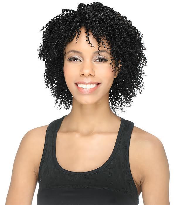 Amy Unprocessed Brazilian Remy Human Hair 3pcs Bohemian Curl 8