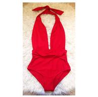 New swimsuit design 'Miami' with adjustable halterneck tie