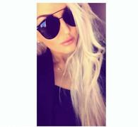 New 'Sienna' designer style sunglasses - BLACK