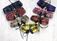 Check Me Out! Tartan choker