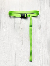 LIME GREEN BUCKLE BELT