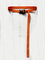 ORANGE BUCKLE BELT