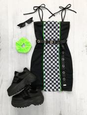 *NEW* GRIDLOCK tube mini dress