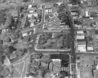 Aerial View 2 of Downtown Ridgewood, 1971
