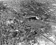 Aerial View of Downtown Ridgewood, 1963