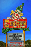 Circus Drive-In, Wall, NJ, framed oil painting on linen (Artist: Mark Oberndorf)