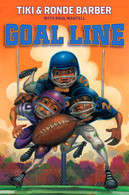 Goal Line by Tiki Barber (signed by the author)