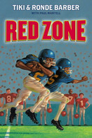 Red Zone by Tiki Barber (signed by the author)