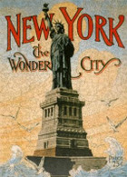 New York, the Wonder City Wooden Puzzle