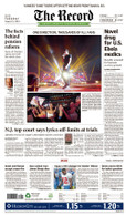 One Direction at MetLife Stadium, Aug. 5, 2014 Front Page Reprint