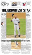 "Robinson Cano ""The Brightest Star"" Farewell Sports Front Page Reprint"