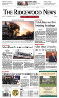 Annual Subscription to The Ridgewood News