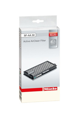 The Miele Active Filter SF-AA50 is new and improved with Timestrip Technology.  The filter will let you know when it needs to be changed. Active Carbon filter fits Miele S4, S5, S6, S8, Compact C2 and Complete C3 canister vacuums.