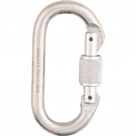 Bright Oval Screwgate Carabiner by Liberty Mountain