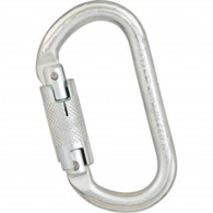 Steel Oval Twistlock Carabiner by Liberty Mountain