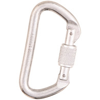 "Bright ""D"" Screwgate Carabiner by Liberty Mountain"