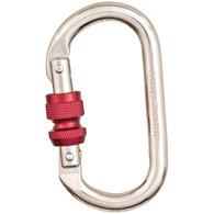 Classic Steel Oval Screwgate Carabiner by Liberty Mountain