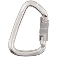 "Aluminum Large ""D"" Key Lock Screw Gate Carabiner by Liberty Mountain"