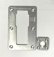 FF4 Wall plate and cleat with hardware.  (Handhold not included)