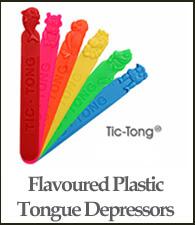 Tic Tong Plastic Tongue Depressor
