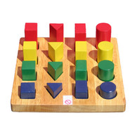 Shape and Size Board - Educational Toy