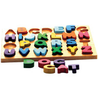 Capital Letter Puzzle - Educational Toy