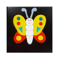 Wooden Toy Puzzle -  Butterfly