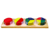 Round Fraction Bar - Educational Toy