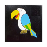 Wooden Toy Puzzle - Parrot