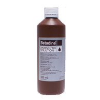 BETADINE Povidone Iodine Antiseptic Solution 500ml