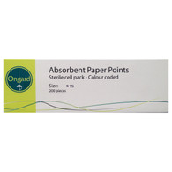 Paper Points Sterile Cell Pack, 200 Units/ Pack