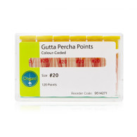 Gutta Percha Points, 120 Units/ Pack