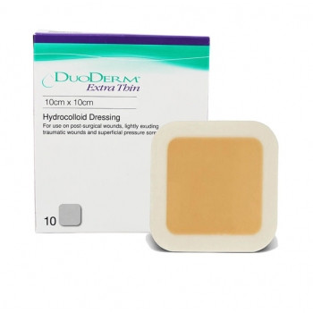 Duoderm Extra Thin dressing 10 x 10cm - BOX/10