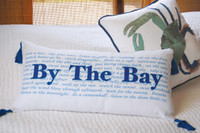 "By The Bay Cotton Lumbar Bed Pillow - 14""x 26"""