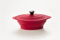 Medium Oval Steamer - Shown in Red