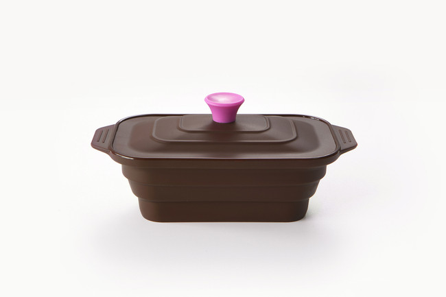 Medium Rectangular Steamer - Shown in Chocolate Brown