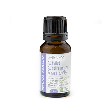 Lively Living Child Calming Remedy Organic Essential Oil 15ml