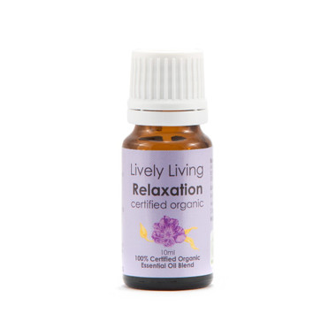 Lively Living Relaxation Certified Organic Essential Oil 10ml