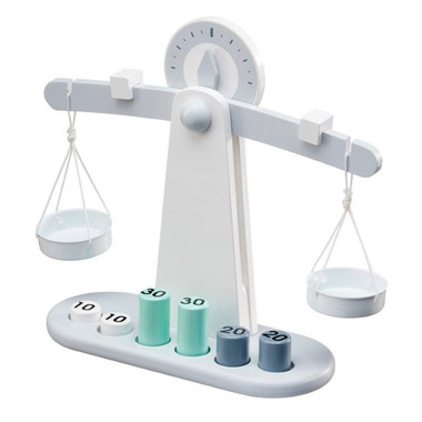 Kids Concept Wooden Balancing Scales