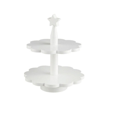 Kids Concept Wooden 2 Tier Cake Stand