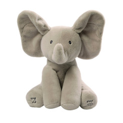 Baby GUND Animated Flappy The Elephant Peek a boo
