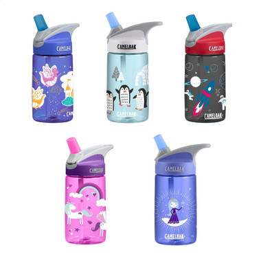 Camelbak Eddy Kids 400ml Water Bottles with Straw