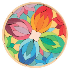Grimm's Large Mandala Lara Puzzle with tray