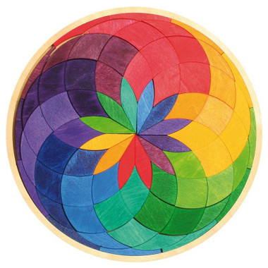 Grimm's Small Colour Circle Spiral Puzzle
