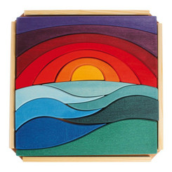 Grimm's Landscape Puzzle with tray