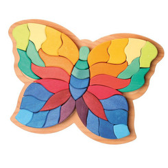 Grimm's Butterfly Puzzle - top view