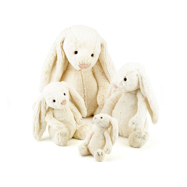 Jellycat Bashful Bunnies in Cream colour