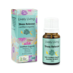 Lively Living Stress Release Organic Essential Oil 10ml