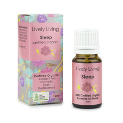 Lively Living Sleep Organic Essential Oil 10ml