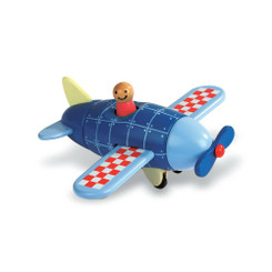 Janod Magnetic Wooden Plane Puzzle
